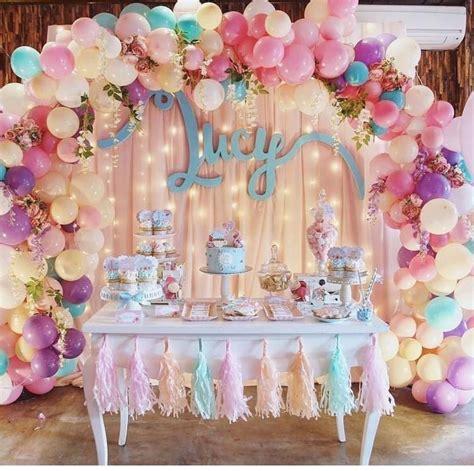 globos y flores Lindas #decoraciones en globos para # ...