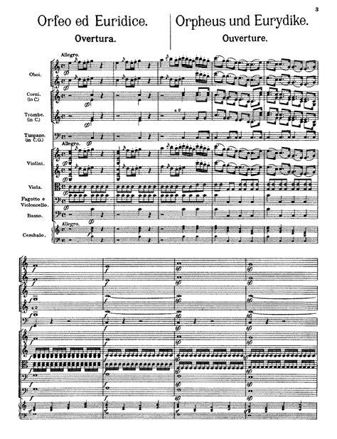 gluck orfeo ed euridice libretto english