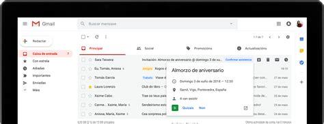 Gmail: correo electrónico e almacenamento gratuíto en Google