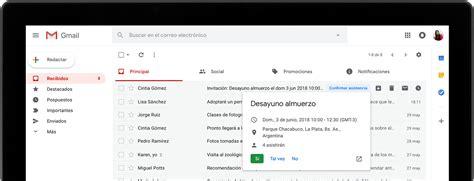 Gmail: correo electrónico y almacenamiento gratuitos de Google