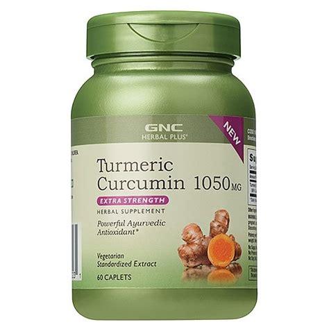 GNC Turmeric Curcumin 1050 mg, Extra Strength - 60 Caplets ...