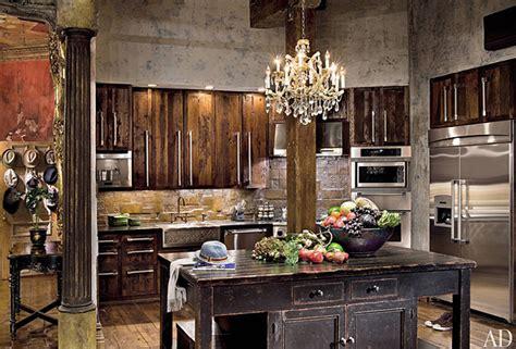 Go Inside Celebrity Kitchens   Decoración vintage, Loft y ...