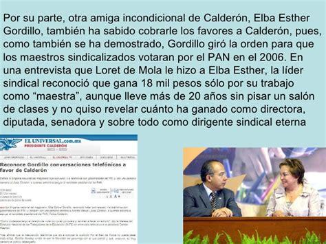 gobierno de Calderon
