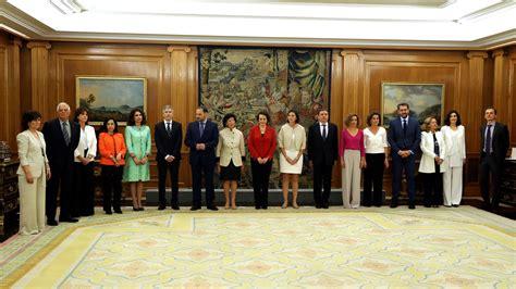 Gobierno de Pedro Sánchez: los nuevos ministros prometen ...