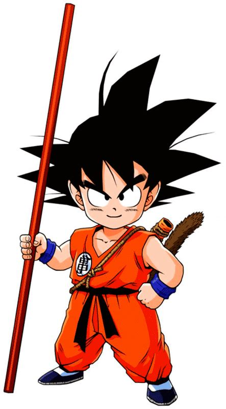 Goku Pequeño : imagenes de dibujos animados