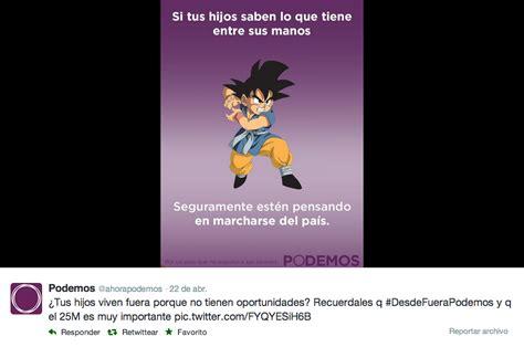 Goku, Pikachu y Doraemon en una campaña política ...