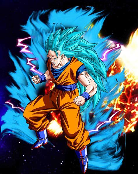 Goku SSJ 3 y 4 God - Manga y Anime - Taringa!