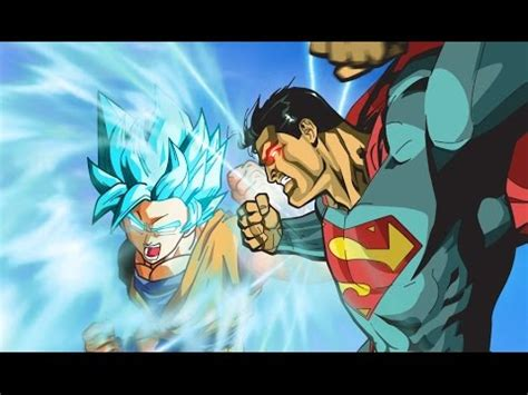 Goku (SSJDIOS) VS Superman - Español Latino - YouTube