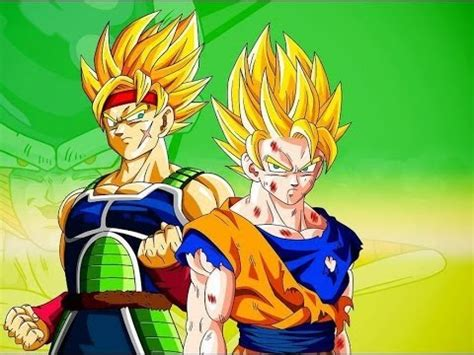 Goku Super Sayayin VS Bardock Super Sayayin   Dragon Ball ...