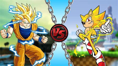 Goku vs Sonic | Doovi
