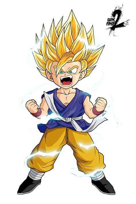 Goku y Vegeta: Renders goku GT