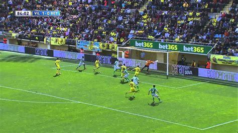 Gol de Rubén Castro (1-1) en el Villarreal CF - Real Betis ...