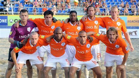 Golazo de la selección holandesa de fútbol playa