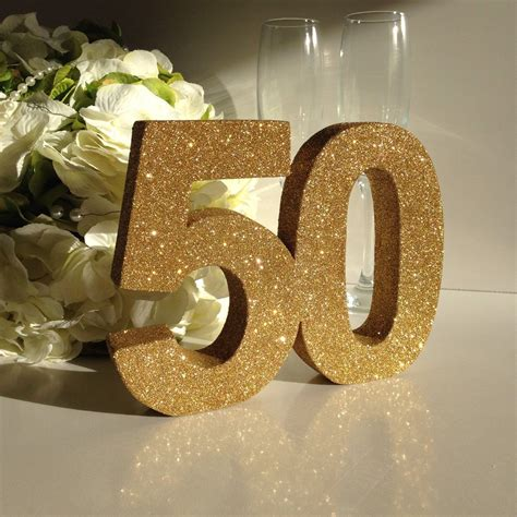 Gold 50th birthday party decoration 50th anniversary ...