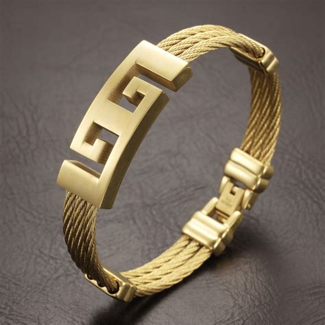 Gold Jewelry 18k Gold Bracelets For Men - Buy 18k Gold ...