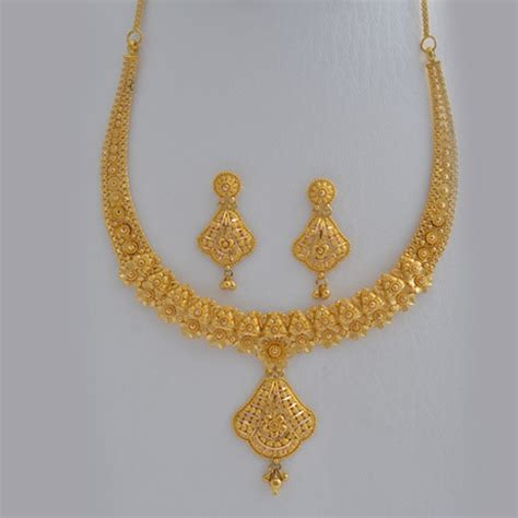 Gold Necklace For Women 22k