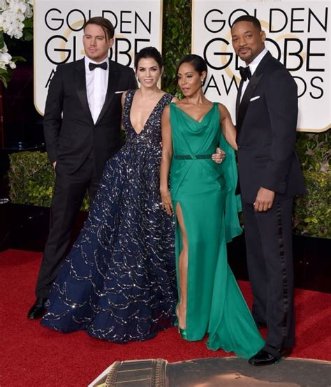 Golden Globes 2016 Red Carpet | Channing Tatum, Jenna ...