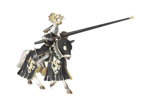 Golden Knight on Horse - Kids & Toys