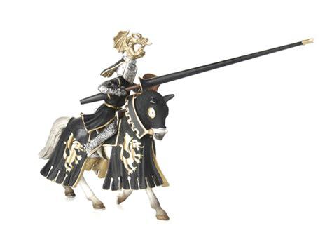 Golden Knight on Horse   Kids & Toys