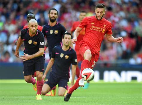 Golea Liverpool 4 0 a Barcelona en partido amistoso