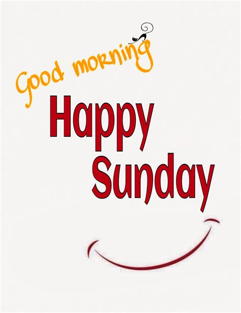 Good Morning Happy Sunday Smile Pictures, Photos, and ...