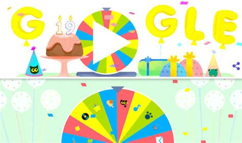 Google birthday surprise spinner: How to play the Google ...