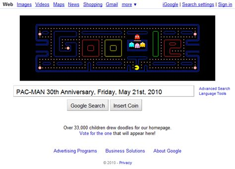 Google Celebrates PAC-MAN's 30th Anniversary with an ...