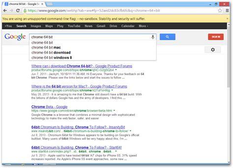 Google Chrome 64-bit