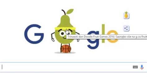 Google Doodle   Basketball Fruit Games   Rio Olympics 2016 ...