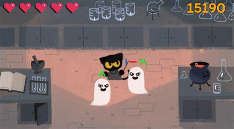 Google Doodle   Google celebra Halloween con un videojuego ...
