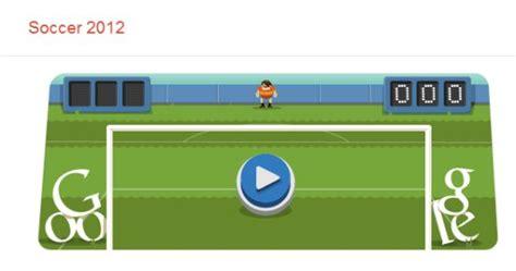 Google Doodle Olympia 2012 Fußball  Soccer : Als Torwart ...