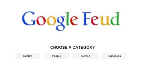 Google Feud Is Our New Favourite Game To Play Online
