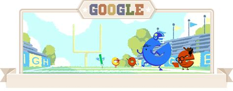 Google Gameday Doodle #2