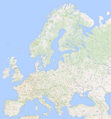 Google Map Europe Maps Europ Of – Estarte.me