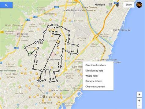 Google Maps: Cómo calcular la distancia entre dos o más puntos
