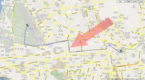 Google Maps con indicaciones de manejo para Latino América ...