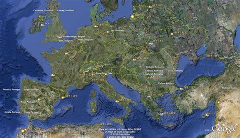 Google Maps Europe   pnf.me