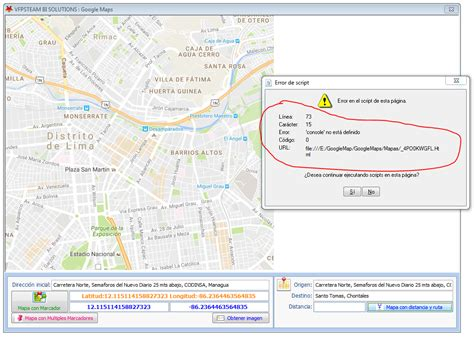 Google Maps : Obtener distancia entre dos puntos - Google ...