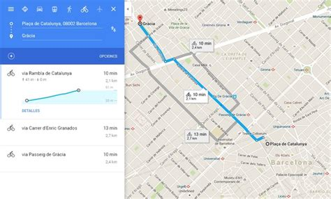 Google Maps, rutas en bicicleta   Noticias Tecnologicas