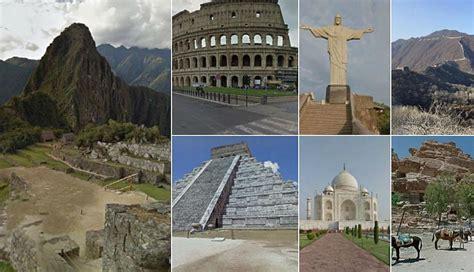 Google Maps te permite explorar las siete maravillas del ...