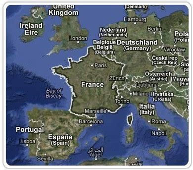 Google Maps vue satellite et les photos