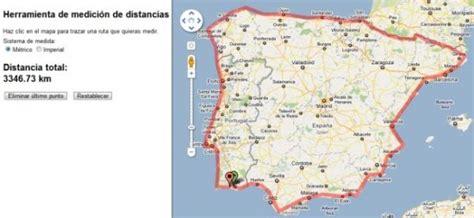 Google Maps ya permite calcular distancias