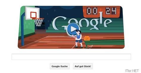 Google Olympia Aktion Doodle – Basketball