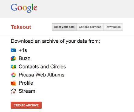 Google+ permite transferir datos entre diferentes cuentas ...