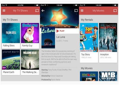 Google Play Movies y TV llega a iOS » MuyComputer