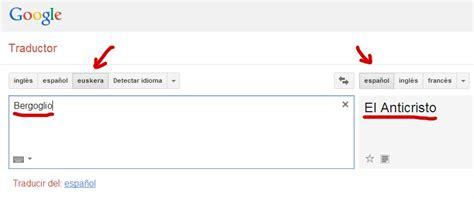 Google quita el euskera de su traductor porque el apellido ...