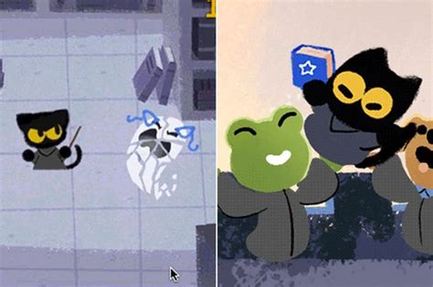 Google s Halloween game doodle lets you fight ghosts with ...
