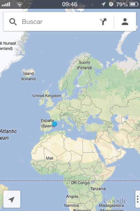 Google Satellite Mapa De Espana