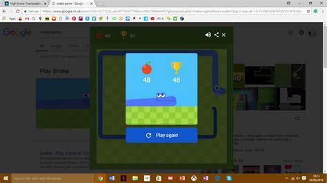 Google Snake (Web) high score by Charlosdaboss123
