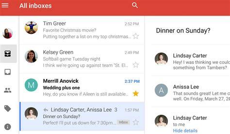 Google unifica la bandeja de entrada del Gmail Android